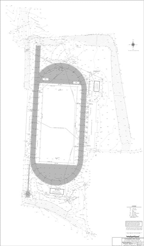 Topographic survey sample