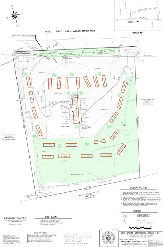 Site Plan sample