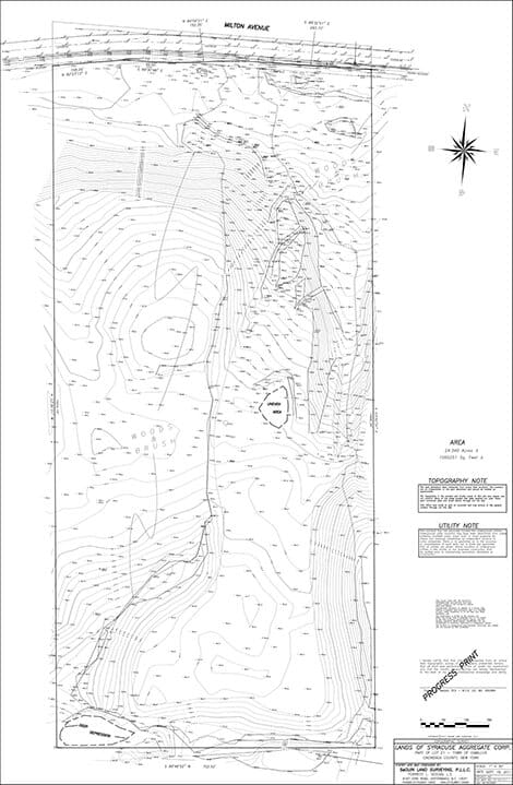 Topographic Design Survey sample